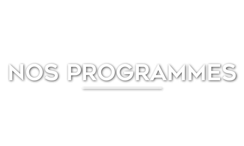 PROGRAMMES & PROJETS