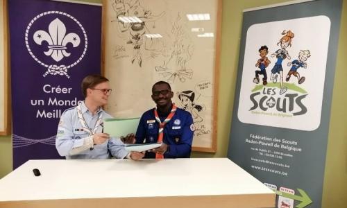 L'ASCCI et les Scouts de Belgique renforcent leurs relations !